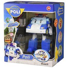 Robocar Poli - Poly - Robot Trasformabile Con Luci 13 Cm