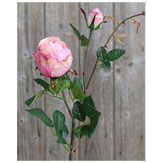 Rosa Artificiale Per Composizioni 80cm Decorazione Casa