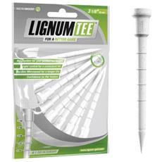 S Lignum Tee 3 1/8 Pack 12 White Masters