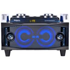 120w Usb Fm Di Deviazione Standard Bluetooth Sistema Portatile Splbox120 My Deejay