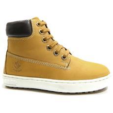 LUMBERJACK - Oklahoma Sneakers Mid Bambino Nabuck Giallo - 34 Giallo b18d49c5942