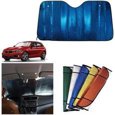 Luckystar4you Parasole per Parabrezza dellauto 70 cm Parasole Auto Protezione Solare Isolamento Termico Barriera Parabrezza Anteriore Tendina Parasole Accessori per Auto 130