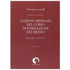 Lezioni ordinate del corso di formazione dei medici. Vol. 3