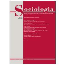 Sociologia. Rivista quadrimestrale di scienze storiche e sociali (2014) . Vol. 1