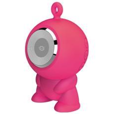 Altoparlante Speaker a ventosa Waterproof Bluetooth - Rosa