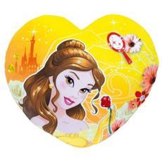 Disney Princesses Coussin En Coeur, Belle