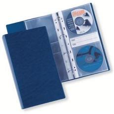 raccoglitore 4 anelli disco 40 blu 12x30cm sei rota