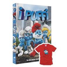 Dvd Puffi (i) +t-shirt Grande P. Rosso 5/6