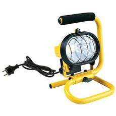 Faretto portatile proiettore con maniglia 120 w giallo-nero