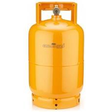 Bombola 5 Kg Ricaricabile Da Campeggio Vuota Casa - Campeggio - Barbecue Colore Arancio
