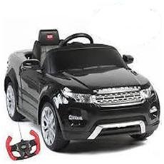 Auto Elettrica Range Rover Evoque Nera Con Luci, Suoni E Telecomando 12 Volt 81400 / bk