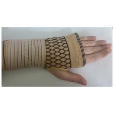 Protezione Palmo Palm 3509 Fascia Guanto Elastico Con Chiusura In Velcro Neoprene Polso Polsiera