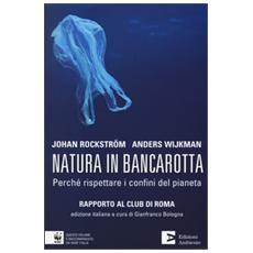 Natura in bancarotta. Perché rispettare i confini del pianeta. Rapporto al Club di Roma