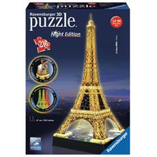 Puzzle 3D Torre Eiffel 216 pz 41 x 14 x 7 cm 12579
