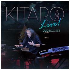 Kitaro - Live! (3 Dvd)