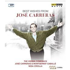 Dvd Carreras-best Wishes From Jose' Carr