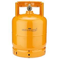 Bombola Gpl / propano Kg 3 Con Maniglia E Rubinetto - Colore Arancio