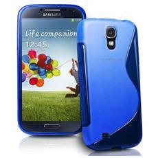 Cover Custodia Sline Silicone Tpu - Blu - Samsung Galaxy S4 Mini