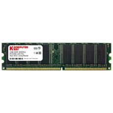 KB 1GB 400 DIMM LD, DDR, PC / server, 184-pin DIMM, 1 x 1 GB, DIMM, PC-3200