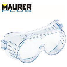 Occhiali di protezione da lavoro panoramici con elastico lenti neutre