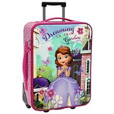 Disney Principessa Sofia Trolley Valigia Morbida ''dreaming In The Garden''