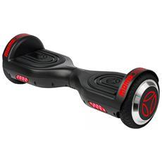 """Hoverboard Balance con Ruote da 6.5"""" Colore Nero / Rosso"""