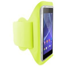 """BXFBRL02V 5.7"""" Fascia da braccio Verde custodia per cellulare"""