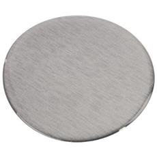 Adapter Plate for Suction Cup Bracket, 65 mm, self-adhesive Argento cavo di interfaccia e adattatore