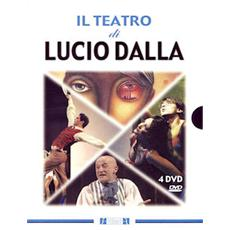 Dvd Teatro Di Lucio Dalla (il) (4 Dvd)