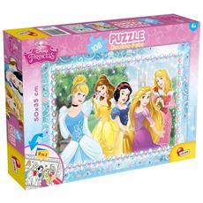 Principesse Disney - Puzzle Double-Face Plus 108 Pz