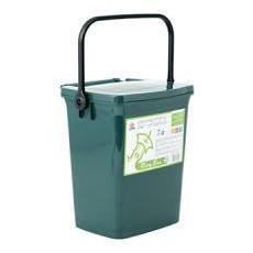 Contenitore Umido Ricybox Lt7 Con Coperchio Verde Spazzatura Riordino