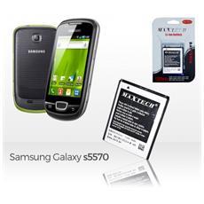 Batteria Compatibile Samsung S5570 / Wave E Successivi Maxtech Li-ion Battery 1350mah T013