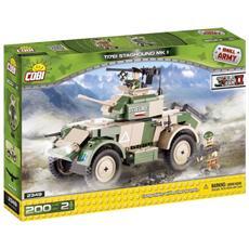 T17ei Staghound Mk I Gioco Di Costruzioni Small Army 02552