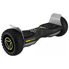 """Hoverboard Balance con Ruoto 8.5"""" Colore Nero / Giallo"""