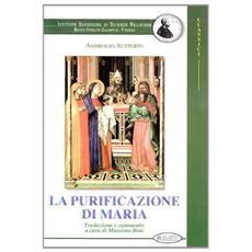 La purificazione di Maria