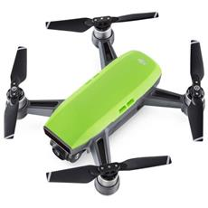 Drone Spark Meadow Green Fly More Combo Cam HD 12Mpx Gimbal 3 Assi, GPS connessione Wi-Fi + Radiocomando, 2 Batterie e Kit Accessori