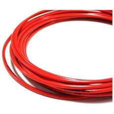 Guaina Per Cavi Freni Bici Cgx, Rosso (rot), 5 Mm
