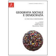 Geografia sociale e democrazia