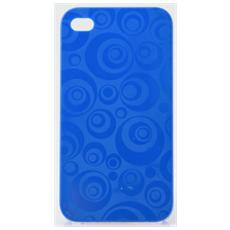 Custodia Cover Case In Plastica Per Iphone 4 4S Blu