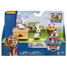 Paw Patrol Rescue Action Pup Skye & Bunnies Rescue Set