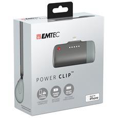 ECCHA26U400AP, Ioni di Litio, USB, Nero, Grigio, micro USB, Universale, iPhone 6, iPhone 5S, iPhone 5C, iPhone 5, iPod 5, iPod nano 7