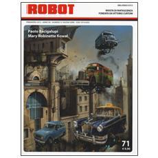 Robot. Rivista di fantascienza (2014) . Vol. 71
