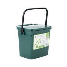 Contenitore Umido Ricybox Lt5 Con Coperchio Verde Spazzatura Riordino