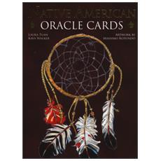 Native American. Oracle cards. Con 33 carte. Ediz. multilingue
