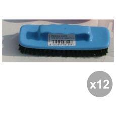 Set 12 Spazzola Scarpe Spandilucido Plastica Art. 0122 Attrezzi Pulizie