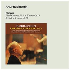 Chopin - Piano Concertos N 1 In E Minor Op. 11 & N 2 In F Minor Op. 21 - Artur Rubinstein