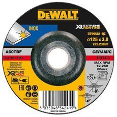Disco Da Sbavo Ceramico Xr Flexvolt Per Materiali Ferrosi Diametro 125 Mm - Spessore 3,0 Mm