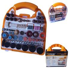 Kit 300 Pz Accessori Mini Trapano Dremel Trapano Set Frese Con Valigetta
