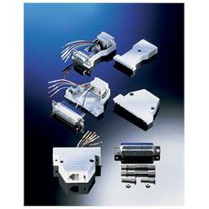 Adapter DB25 M / RJ45 F, 8P / 8C DB25 M RJ45 F cavo di interfaccia e adattatore