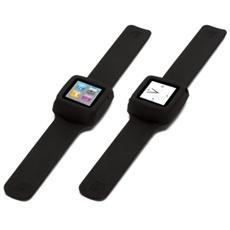 Slap - Cinturino flessibile per iPod nano 6G - Nero